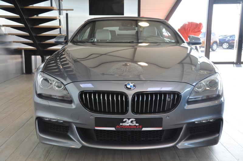BMW 650i F13 cabriolet V8 M Exclusive