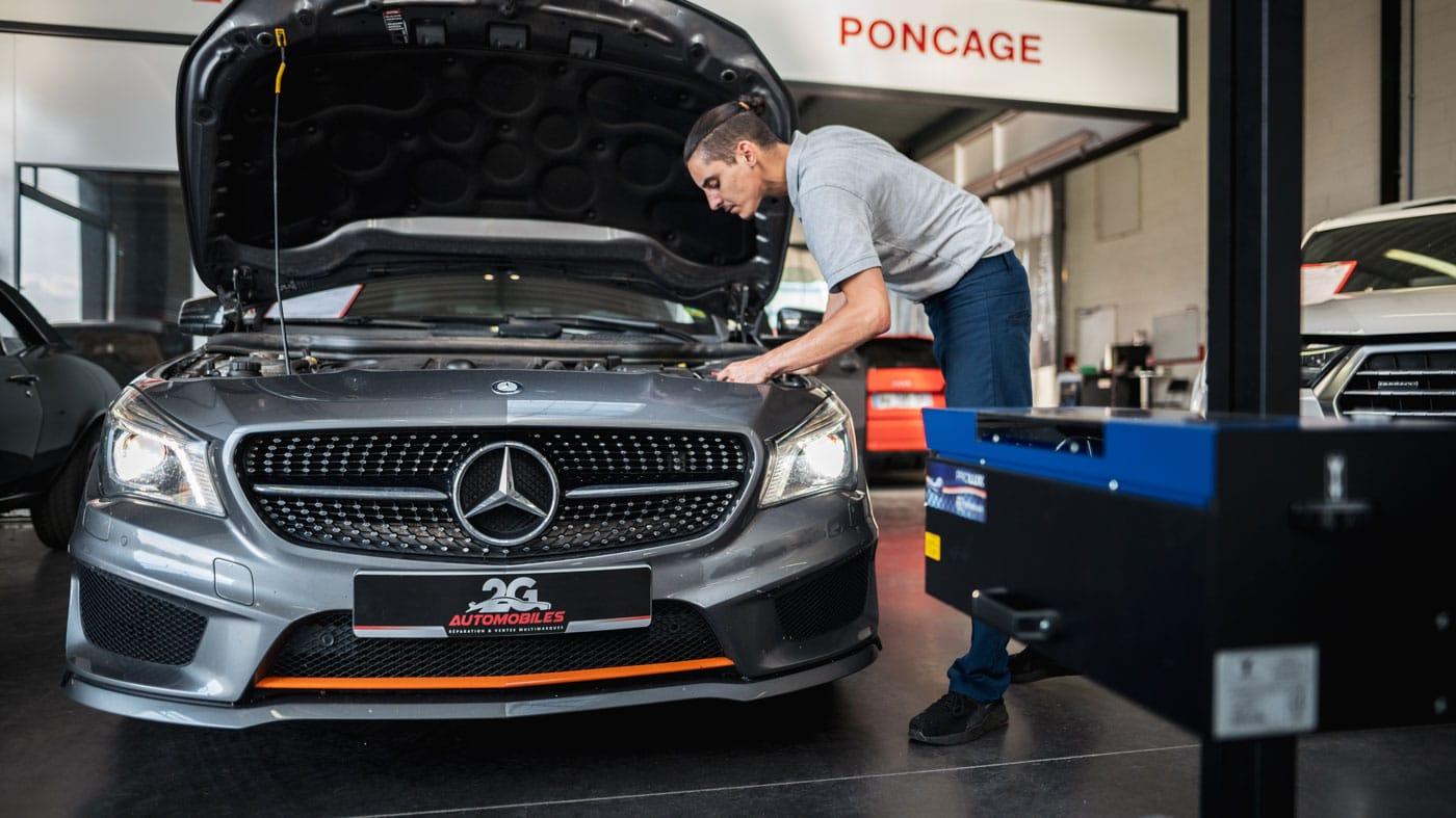 Atelier mécanique 2G Automobiles Cernay