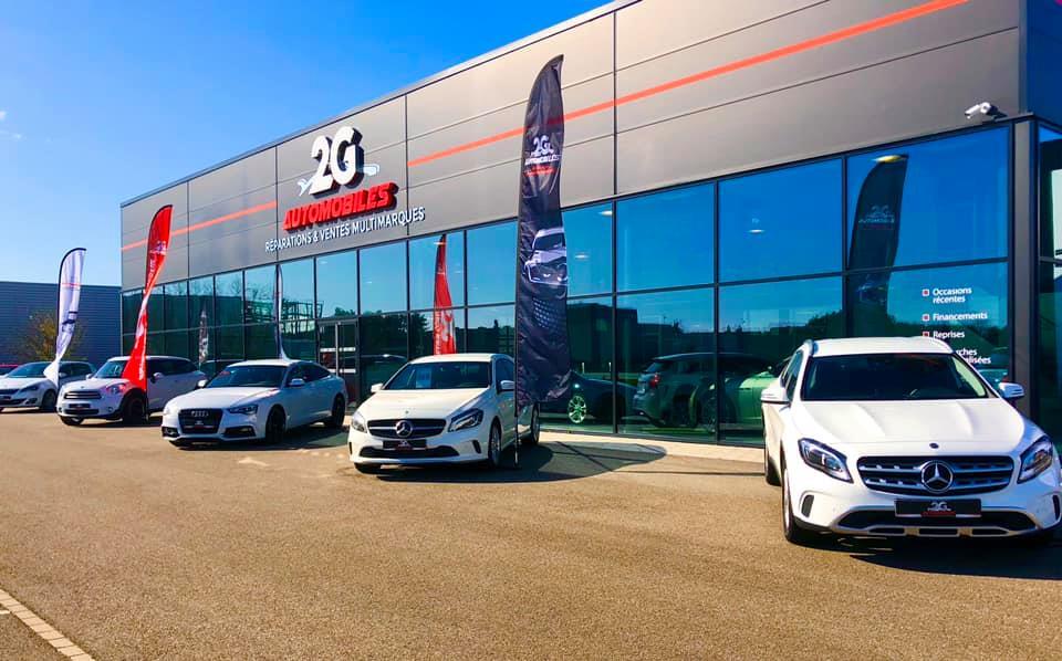 Showroom 2G Automobiles Cernay
